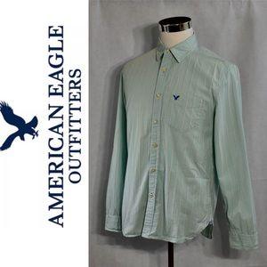 AMERICAN EAGLE Casual Button Down Shirt M